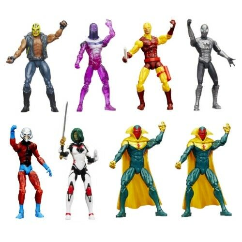 Marvel 3.75 Legends Wave 2 Case of 8 Daredevil Gamora Ant-Man Vision Spiderman