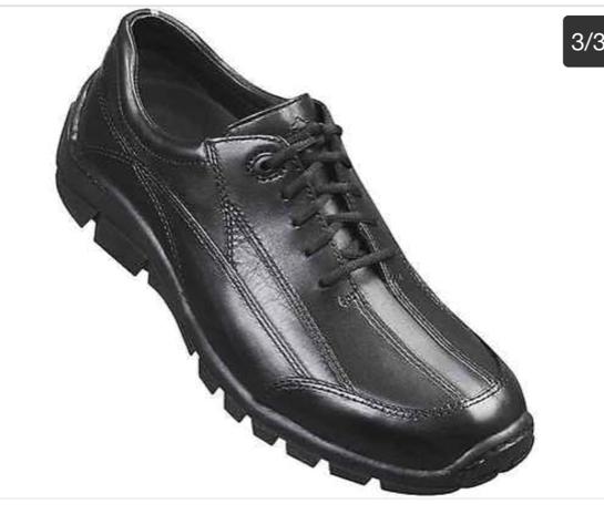 Dunham Conquest OXF OXF Conquest Black Men's Size 11 Euro 45 NIB 5f36ea