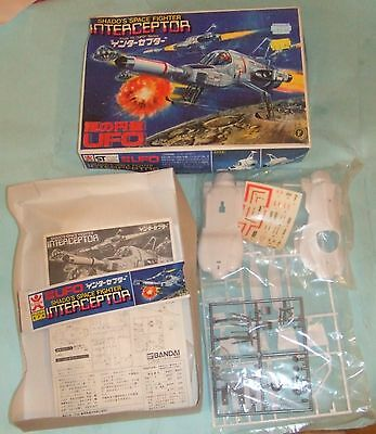 Bandai Model Kit From TV UFO Series - Shado`s Space Fighter Interceptor. Sealed.
