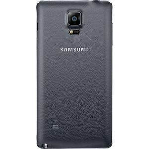 Samsung-Galaxy-Note-4-IV-Housing-Faceplate-Battery-Back-Cover-Case-BLACK