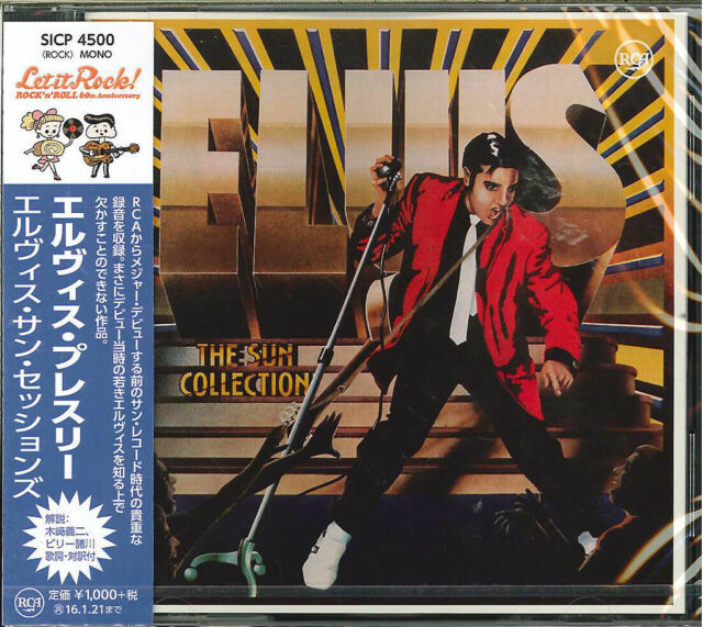 ELVIS PRESLEY-THE SUN SESSIONS-JAPAN CD B63