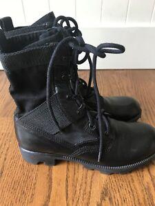 705ceeda78e Theyskens Theory Yvanka Combat Boots, 37.5, US 7 1/2, Black   eBay