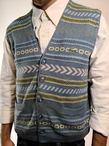 Lacoste Gilet Maglione Man Tg Uomo R354 Smanicato 4 Vintage Sleeveless Sweater rqr5wZ