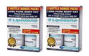 Of course, if you really want to lose weight and keep it off, you will need to change your diet and activity level, but there's something to be said for using Lipozene as a non-stimulant aid to help the process along. GNC sells a 2 bottle package, each bottle a count, for $