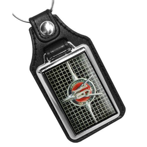 Compatible with1930 Cadillac V16 Car Emblem Vintage Design Key Ring