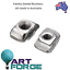 10-x-M3-T-Slot-hammer-nuts-for-20-series-extrusion-aluminium-profile thumbnail 1