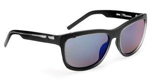 Spy Optic Murena Women/'s Sunglasses Shiny Gloss Black Frame Grey Green Lens