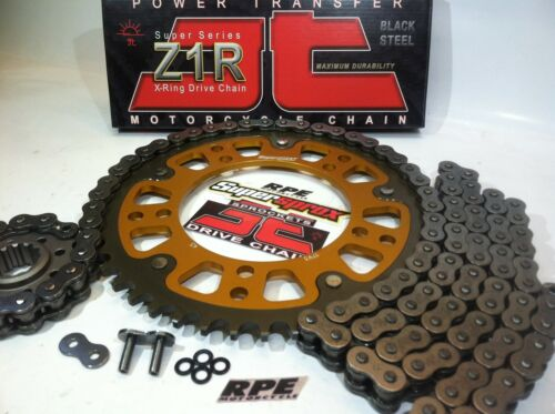 /'00-05 ZX-12R NINJA JT Black Z1R ULTIMATE Chain and SuperSprox Sprockets Kit