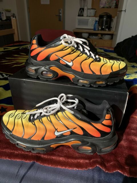 Nike Air Max Plus OG Tiger TN Air Black Red Mens Shoes [852630 040] Size 12