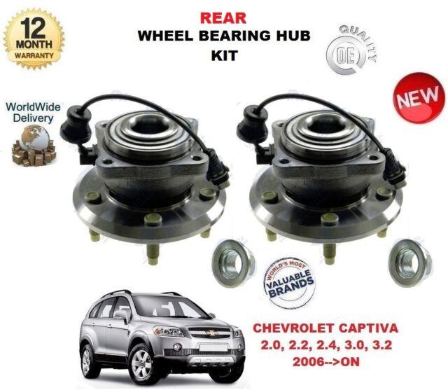 Für Chevrolet Captiva 2006> nach Neu 2 X Radlager Nabe Hinten ABS Sensor Satz