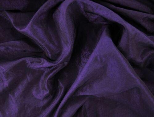 festivo EUR 4,97//m METERWARE dark purple kleidertaft estrellaste noble de tela