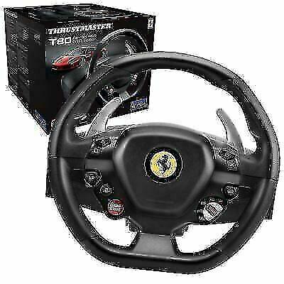 Thrustmaster 4160672 T80 Ferrari 488 Gtb Edition Steering Wheel Black For Sale Online Ebay