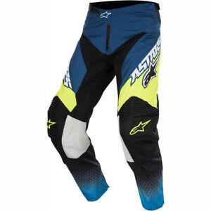 Noir Supermatic Jaune Racer Alpinestars Pantalon Bleu qzaxAIxw