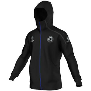 e413507bed61 adidas Chelsea FC 2016 - 2017 Limited Edition UCL Zone ZNE Hooded ...