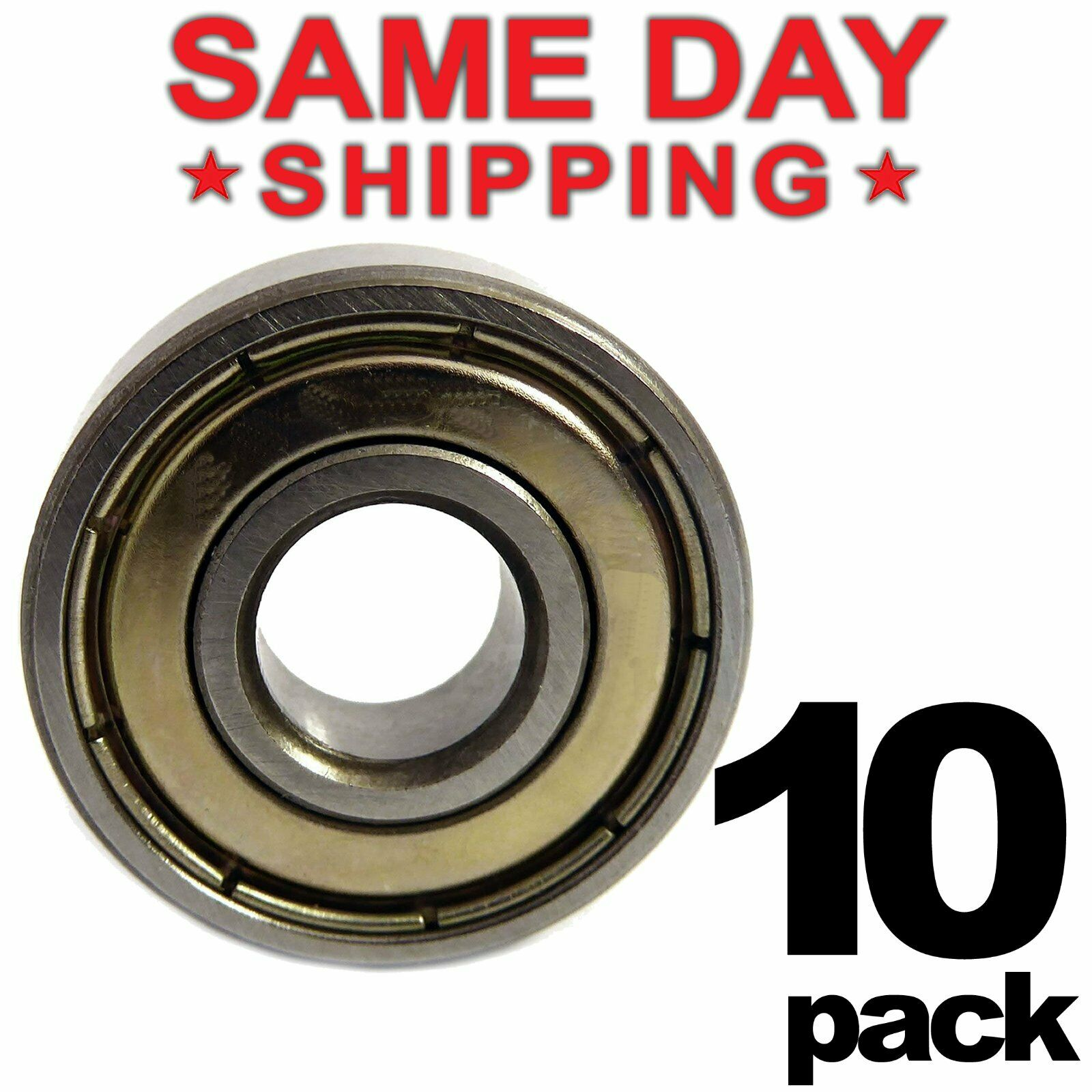Qty.100 625-ZZ metal shields 625Z bearing 625 2Z ball bearings 625 ZZ