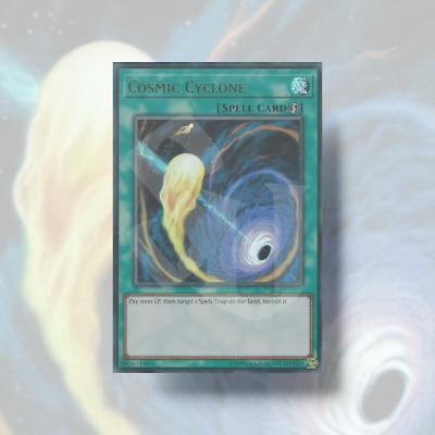 COSMIC CYCLONEUltra Rare YuGiOh
