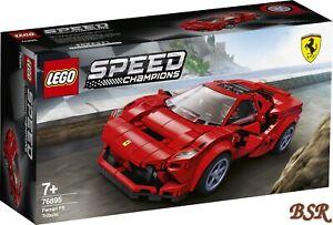 Lego-Vitesse-Champions-76895-Ferrari-F8-Tributo-Neuf-et-Emballage-D-039-Origine