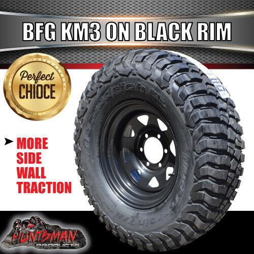 15-034-black-steel-wheel-fitted-BFG-Goodrich-33x12-5R15L-T-Km3-MUD-tyre-33-12-5-15