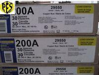 Price Dropnew Square D Qo330l200g Three Phase 200 Amp Mlo Panel Stock