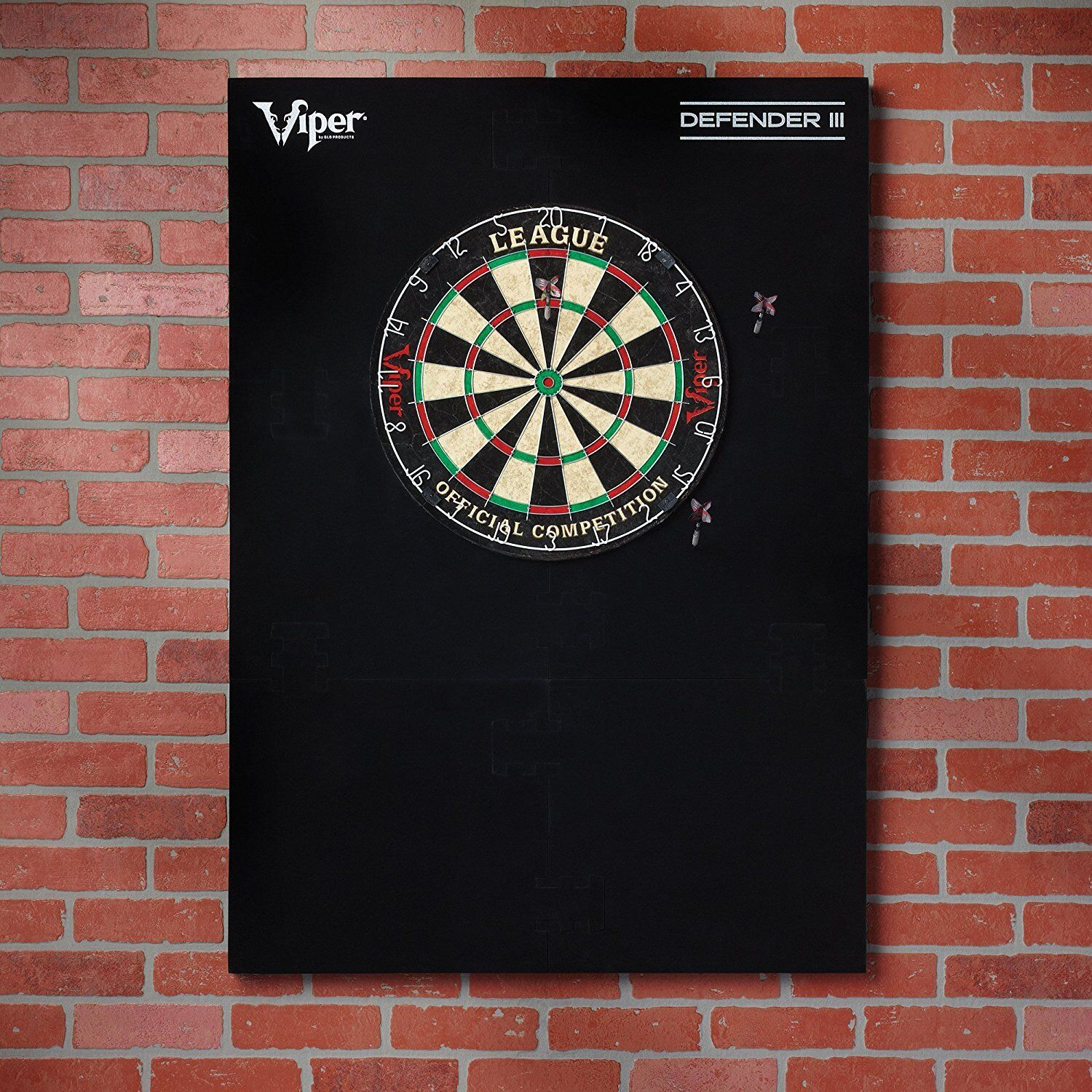 Viper Defender III Dartboard Protector Surround Extended Length Wall Protector Dartboard FREE Ship c25477