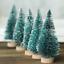 15Pcs-MINI-Sisal-Alberi-di-Natale-Ornamento-in-miniatura-Gelo-Neve-Albero-Natale-Decor miniatura 7