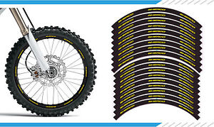 Enduro Sherco Se Model Supermoto Wheel Rim Stickers Decals Motocross