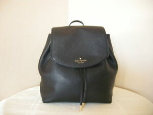 Authentic-Kate-Spade-Small-Breezey-Mulberry-Street-Back-Pack-Black