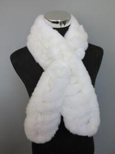 1c381f0cb Handmade 100% real rex rabbit fur scarf /cape/ wrap/shawl /collar ...