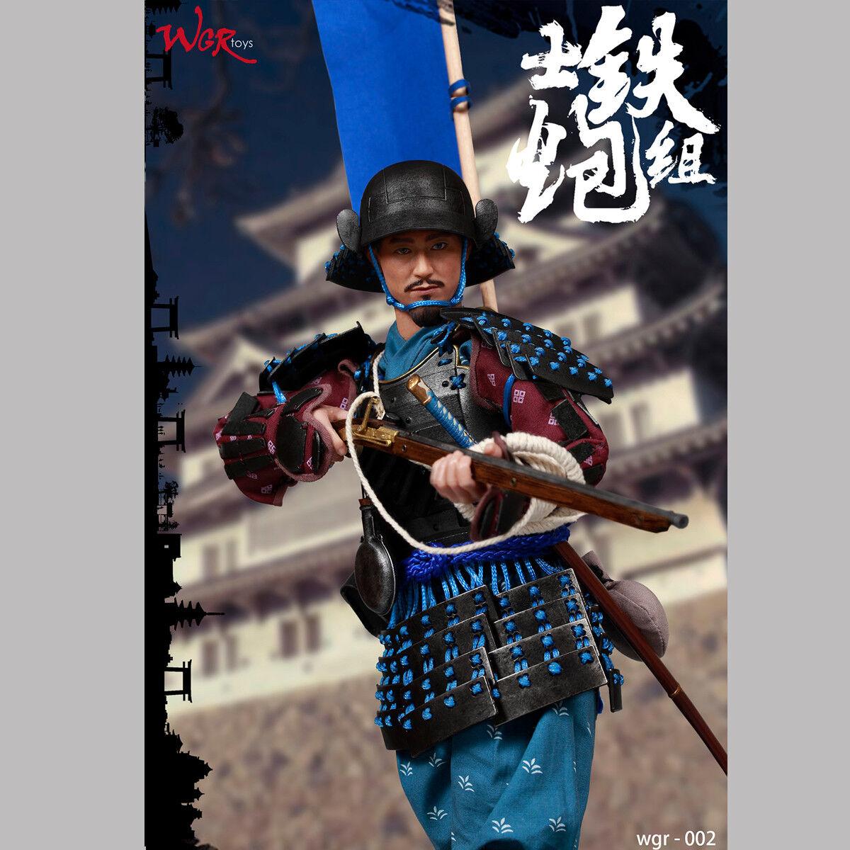 WGRtoys 002 1 6th Samurai artilleur Group Captain Combat Action Figure de Collection
