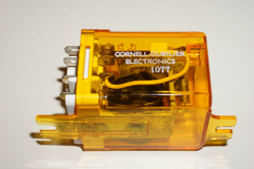 NEW 222D10-12B Cornell Dubilier relay DPDT 12VDC coil 10 Amp contacts