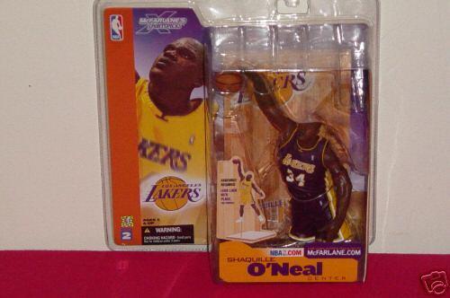McFarlane NBA SER.2 Shaq O'Neal lila JERSEY Variant