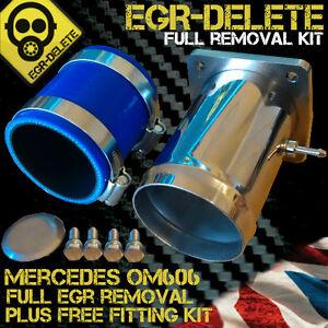 Details about Mercedes OM606 EGR DELETE, EGR removal, EGR Valve blanking  plate/ Removal kit
