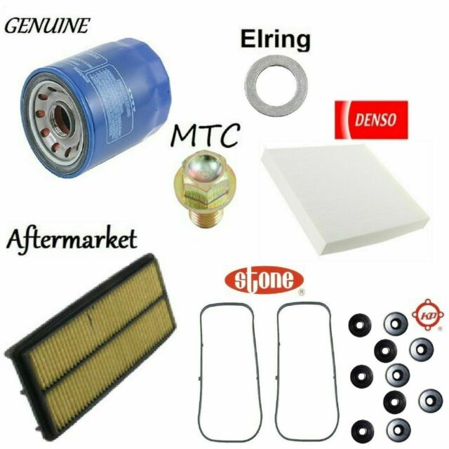 Tune Up Kit Cabin Air Oil Filters O-Rings Gaskets For