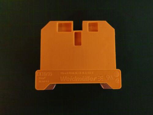 1 x Weidmüller Durchgangs-Reihenklemme EK 16//35