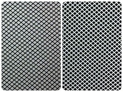 Black Polyester or White Nylon Stretch Fishnet Fabric - 54 Inch Wide