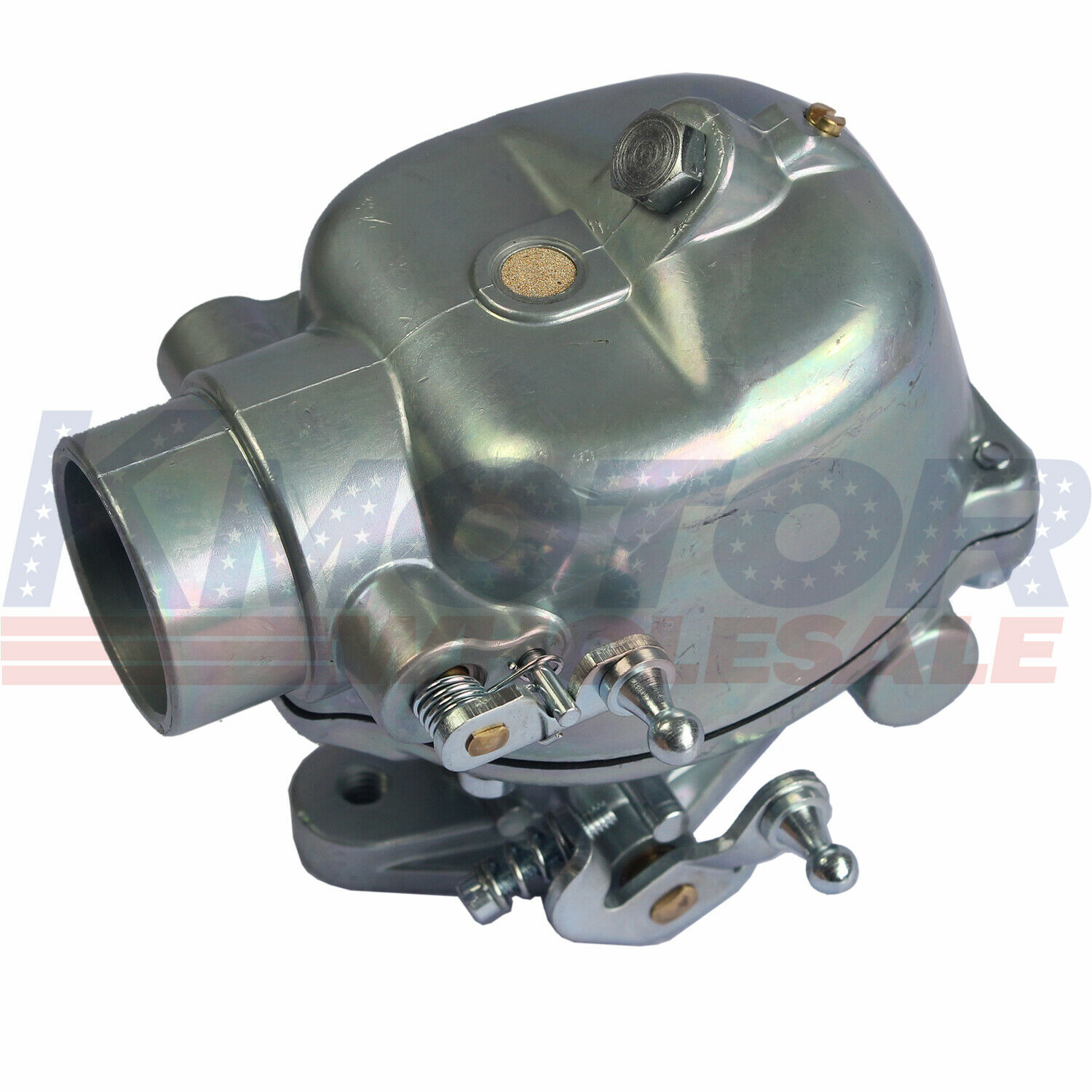 Ruijie 8N9510C Carburetor for Heavy Duty Marvel Schebler Ford Tractor 2N 8N 9N Replace 8N9510C 8N9510C-HD 9N9510A B3NN9510A TSX241A TSX241B TSX241C TSX33 with Gaskets and Bolts