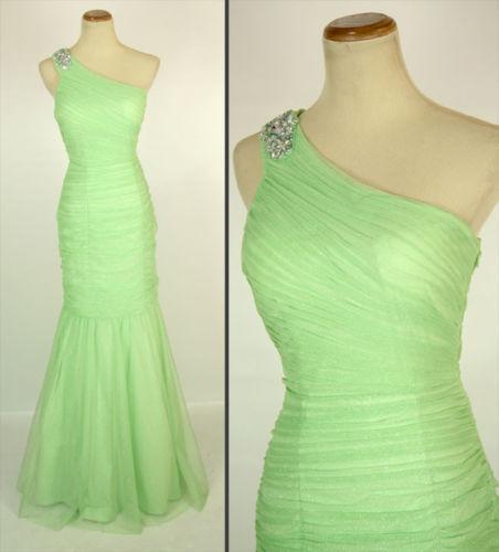 Hailey Logan  Sage Prom Formal Cruise Mermaid Dress Größe 5 Junior Long Gown
