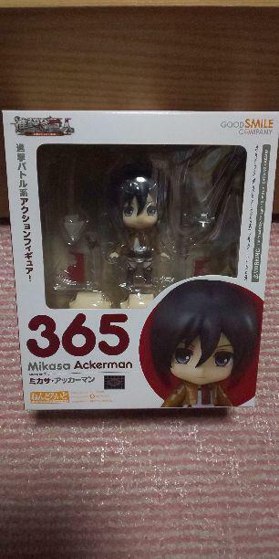 Authentic NendGoldid 365 Attack on Titan Mikasa Good Smile Company anime