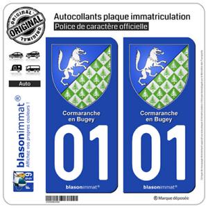 Département 03-2 autocollants style immatriculation AUTO PLAQUE AUVERGNE 2018