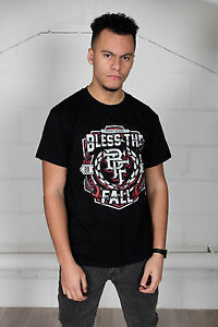 Official-Blessthefall-Crest-T-Shirt-Cavo-Corpetto-Risveglio-Witness-Left-Behind