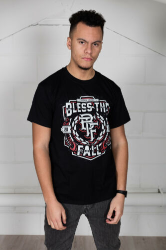 Official Blessthefall Crest T-Shirt Hollow Bodies Awakening Witness Left Behind