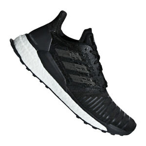 Details about Adidas Solar Boost Running Trainers Womens Black Grey show original title