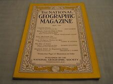 VINTAGE NATIONAL GEOGRAPHIC May 1944 UKRAINE Nigeria KANO Coal ISLES OF GREECE