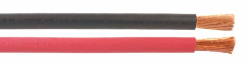 15 FEET OF EACH COLOR Black /& Red - #2 Gauge AWG Welding//Battery Cable