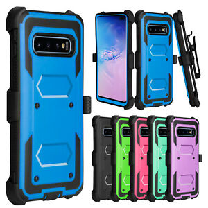 For-Samsung-Galaxy-S10-Plus-S10-S10e-Case-Belt-Clip-Holster-Hard-Phone-Cover