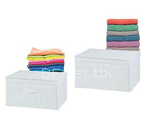 Image Is Loading Foldable Storage Utility Box Folding  Collapsible Cube Fabric