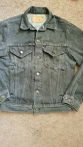 vintage levis denim jacket size 38