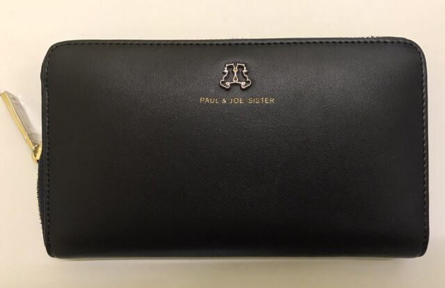 PAUL & JOE SISTER Women's Elan Wallet Black