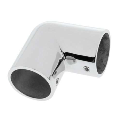 316 Stainless Steel Boat Hand Rail Fitting 90 Degree Elbow Tube Mount DIY
