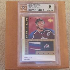 2002-03 UD Premier Collection Patch Joe Sakic JERSEY NUMBER!! #19/25 4 colors